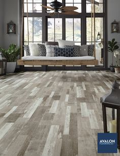 The realistic grain and veining in vinyl flooring today, really creates an authentic hardwood aesthetic #vinylflooring #vinylfloors #interiordesign