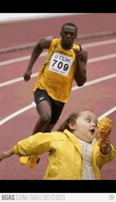 You better run... Or you're going down with the chicken!