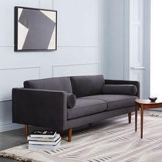 "Monroe Mid-Century Sofa (80"")"