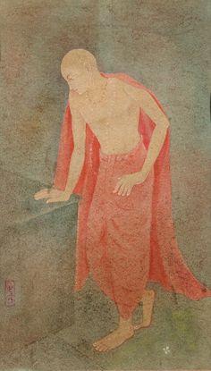 Kshitindranath Majumdar - Chaitanya - Scene from the life of the medieval Vaisnava Saint Chaitanya
