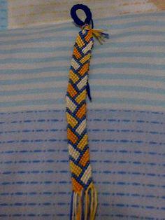 Alternating Colors Friendship Bracelet