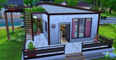 Luniversims: New start house by Sirhc59 • Sims 4 Downloads