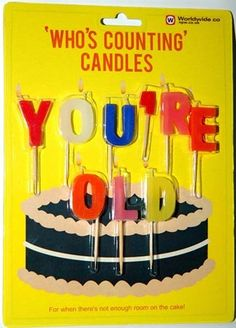 if ur getting sick of putting so many candles on a cake for an old person. try it out and c how much around u will laugh! It's Your Birthday, Birthday Wishes, Happy Birthday, Birthday Surprises, Humor Birthday, 60th Birthday, Birthday Ideas, Old Candles, Birthday Cake With Candles