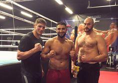 Der 23-jährige Schwergewichtler Agit Kabayel wird am 4. Juni erstmals in Magdeburg in den Ring steigen. Als Vorberitung sparrte er mit Tyson Fury!