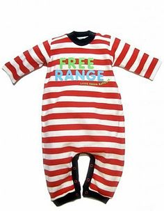 Free Range Organic Baby Playsuit >> This is too cute!!