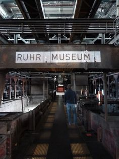 ruhr museum Industrial Sign, Vintage Painting Signage