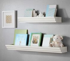 Classic Book Nook Shelving #pbkids