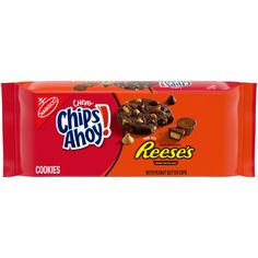 Reeses Peanut Butter, Peanut Butter Chips, Peanut Butter Cookies, Chips Ahoy Chewy, Chips Ahoy Cookies, Chunky Chocolate Chip Cookies, Chocolate Chips, Baking Cups, Love Chocolate