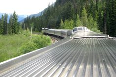 Riding the Overnight Train from Vancouver to Jasper