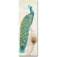 Trademark Fine Art Majestic Beauty I Canvas Art by Daphne Brissonnet, Size: 16 x 47, Multicolor