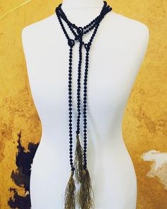 Something from a few years ago. Need to sort out those tassels:)) Gemstone Necklace, Beaded Necklace, Necklaces, Tassels, Gemstones, Jewellery, Unique, Handmade, Beautiful