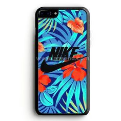 Nike Floral case provides a protective yet stylish shield between your iPhone 7 Plus and accidental bumps, drops, and scratches. Features slim and lightweight profile, precise cutouts, and provides ea