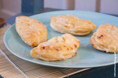 Wos zum Essn: Quarktaschen mit Stachelbeermarmelade und Äpfeln
