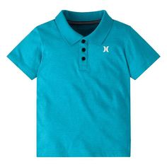 Boys 4-7 Hurley Logo Polo, Size: 6, Lt Green
