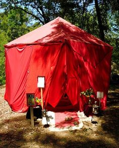 San Diego Red Tent