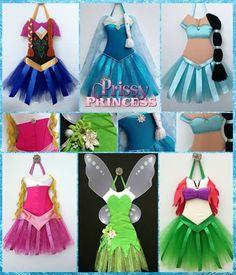 Princess dress bow holders Hair Bow Hanger, Diy Hair Bow Holder, Tutu Bow Holders, Headband Holders, Robes Tutu, Fancy Bows, Disney Bows, Dress Up Outfits, Aprons Vintage