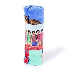One Direction Beach Towel