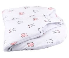 Baby Wearable Blanket / Sleep Bag I Pink Bunnies