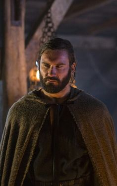 "Rollo (Clive Standen) ""Vikings"" on the History Channel now filming Season 2"