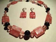 Garnet Quartz Sterling Silver Forever Love by PollywogJewelry, $75.00