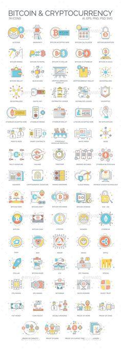 Bitcoin, Blockchain & Cryptocurrency Icons - Technologie-Ikonen Source by Bitcoin Mining Software, What Is Bitcoin Mining, Blockchain Cryptocurrency, Bitcoin Cryptocurrency, Cryptocurrency Trading, Fiat Money, Satoshi Nakamoto, Crypto Coin, Technology