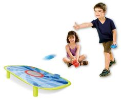 PopOut Bean Bag Toss and thousands more of the very best toys at Fat Brain Toys. This soft and safe bean bag toss pops open for big fun! Camping Games, Camping Activities, Outdoor Toys, Outdoor Play, Bean Bag Games, Kids Sites, Indoor Recess, Indoor Games, Corn Hole Game