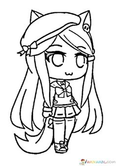 gacha life coloring pages unique collection print for free  coloring pages colorful drawings