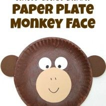 Curious George Inspired Paper Plate Monkey Craft Curious George Inspired Monkey Craft inspired by Curious George now streaming only on Hulu. // SmashedPeasandCar The post Curious George Inspired Paper Plate Monkey Craft appeared first on Paper Ideas. Paper Plate Art, Paper Plate Animals, Paper Plate Crafts For Kids, Animal Crafts For Kids, Paper Plates, Art For Kids, Circus Animal Crafts, Paper Crafts, Jungle Crafts