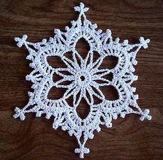 Ravelry: RosesNLace's Fancy Snowflake by Noel Nevins