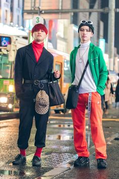 The Best Street Style Photos From Tokyo Fashion Week Spring 18 Tokyo Street Fashion, Tokyo Street Style, Seoul Fashion, Japanese Street Fashion, Harajuku Fashion, Japan Fashion, Fashion Week, Look Fashion, Trendy Fashion