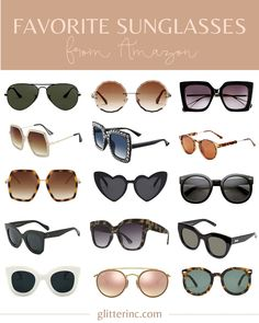 Sharing the best sunglasses from Amazon! These are my very favorite Amazon sunnies – both affordable and designer – perfect for wearing all year long.