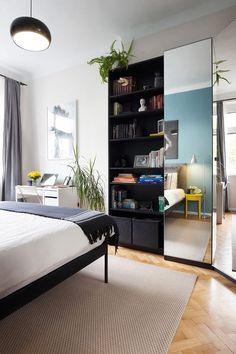 Apartamento pequeno com decoração simples, mas apaixonante
