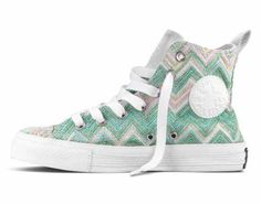 I adore these shoes! Such a cute yet funky design! #chevron
