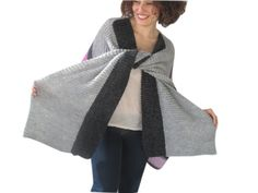 Colorful Hand Knitted Poncho Plus Size Over Size by Afra by afra