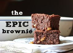 Best Homemade Brownies Ever! Fudge brownie recipe. Caramel brownies. Salted caramel brownies. Whatever you decide to call them, these brownies are EPIC.