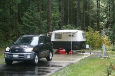Nice set up with matching tow vehicle. Boler Camper