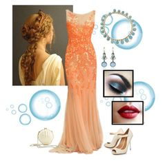 """evening"" by desireeslothus ❤ liked on Polyvore featuring art"
