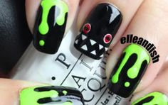 13 Tutorials for Ghostly, Ghoulish Halloween Nails