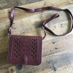 PrimeMark burgundy mini cross body bag Mini cross body purse from PrimeMark London. Unworn Free People Bags Crossbody Bags
