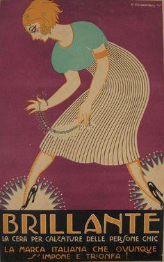 Ad. by P. Bevilacova, 1921, Brillante. (I)