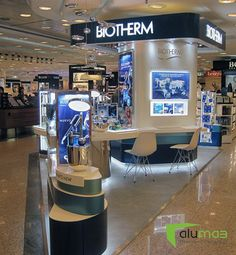 Stand Biotherm en El Corte Inglés Bilbao