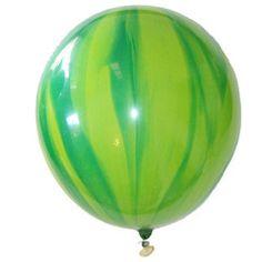 Marble Balloons Green Rainbow and Unicorn Party Tutti Frutti Birthday Party