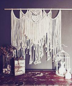 #meisiekind #makramie #bohemian #boho #deco #dekor #decor #fibreartists #fibre #fibreartist #macrame #macramelove #macramewallhanging #cotton #afrikaans #kykhier #kyknet #mooi Afrikaans, Macrame, Chandelier, Bohemian, Tapestry, Ceiling Lights, Artist, Cotton, Home Decor