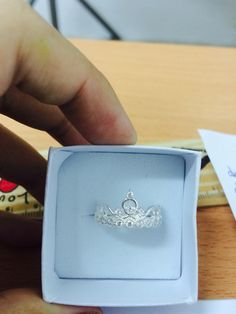 Crown ring- silver 925