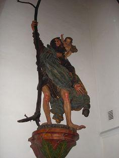 Figur des hl. Christophorus von Hans Leinberger um 1525