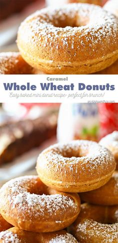 ... Doughnuts, Go Nuts!! on Pinterest | Donuts, Baked donuts and Donut