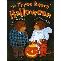 The Three Bears' Halloween; I need this book!!