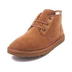 Show your feet some love with the unique styling and classic comfort of the Neumel Casual Shoe from UGG®! The Neumel Casual Shoe sports signature suede uppers with lace closure for easy on and off, and sheepskin footbed for casual, all day comfort. Ugg Boots, Rain Boots, Shoe Boots, Shoes, Ugg Neumel, Casual Boots, Uggs, What To Wear, Brown