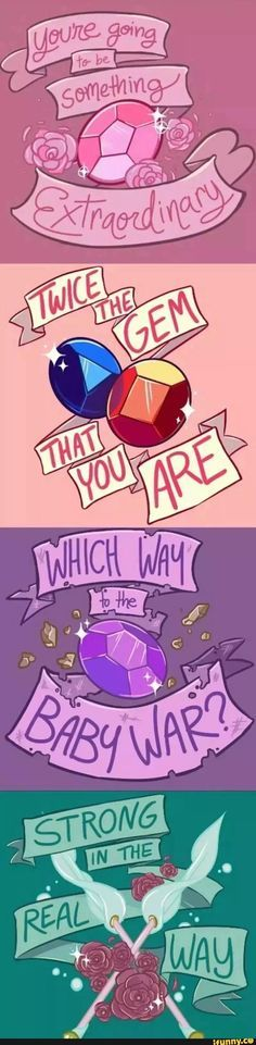 Steven Universe - I like how everyone has really meaingful quotes...and then there's Amethyst XD