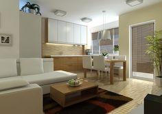 Kuchyně matný dub + bílá Divider, Room, Furniture, Home Decor, Bedroom, Decoration Home, Room Decor, Rooms, Home Furnishings